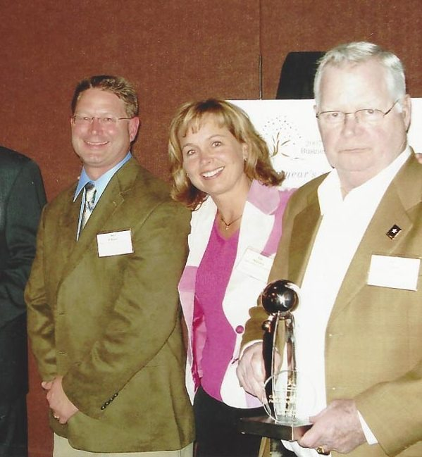 Chase Lumber accepts Wisconsin Family Business of the Year Award