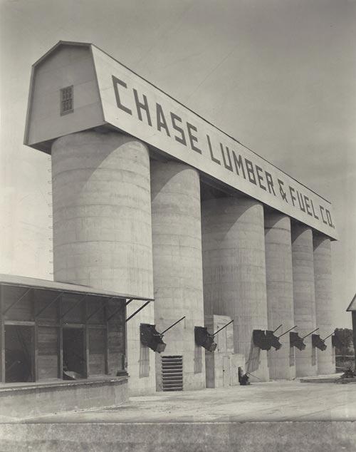 Chase Lumber Silos 1939