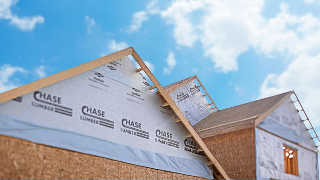 Insulation wrap by Chase Lumber