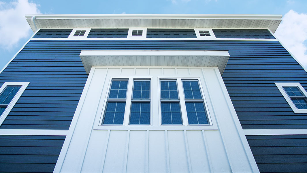 Siding by Chase Lumber on local Madison Area home