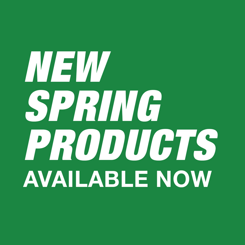 New Spring Products Available Now