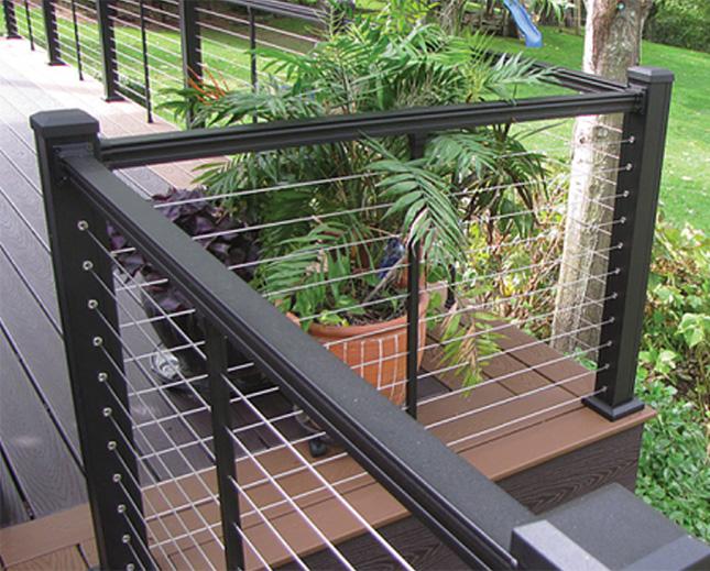 Key-Link railings.